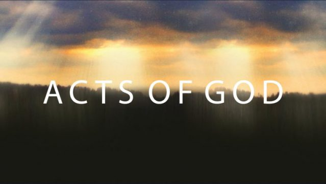 THE ACTS OF GOD