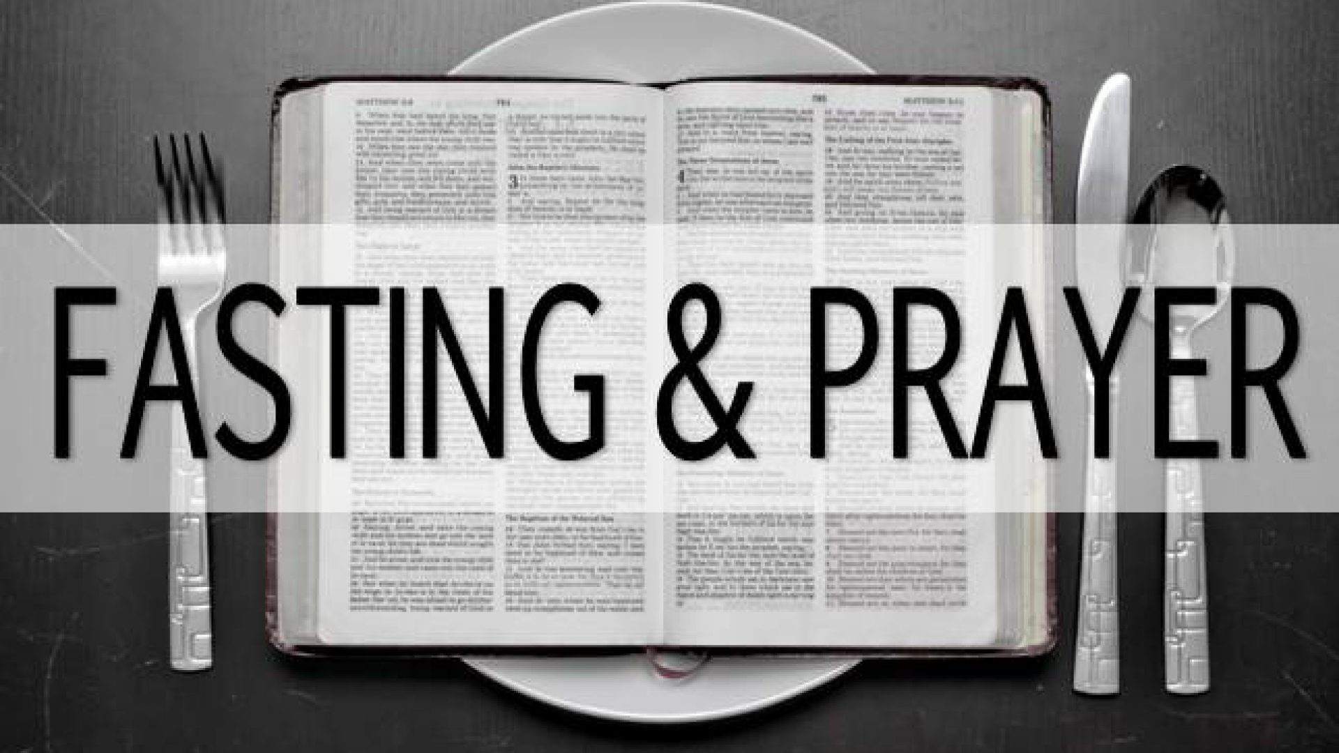 THREE DAYS PRAYER AND FASTING